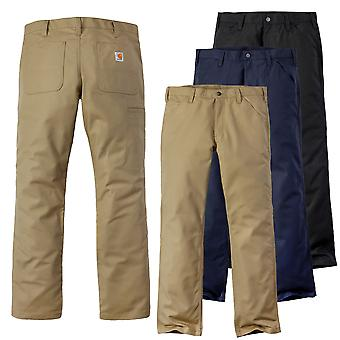 Carhartt mens pants of rugged stretch canvas