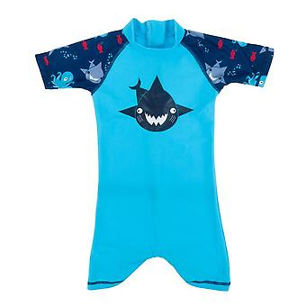 Banz Baby and Kids UV All in One - Shark - Turq