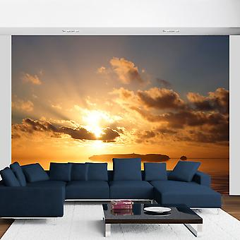 Fotobehang - zee - zonsondergang