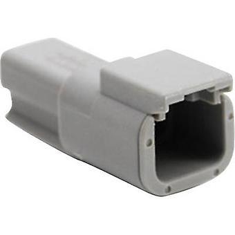 ATM04 أمفينول ف 2 عيار موصل التوصيل، سلسلة مستقيمة (موصلات): العدد الإجمالي الصراف الآلي لدبابيس: 2 1 pc(s)