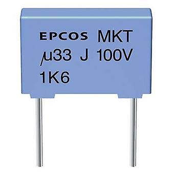 TDK B32520-C225-K 1 ud(s) condensador de película delgada MKT Condensador de película fina Cable radial 2,2 oF 63 V CC 10 % 7,5 mm (L x W x H) 10 x 6 x 12 mm