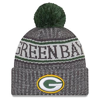 New Era NFL Sideline Graphite Mütze - Green Bay Packers