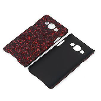 Cell phone cover case bumper shell voor de Samsung Galaxy A5 2015 3D sterren rood