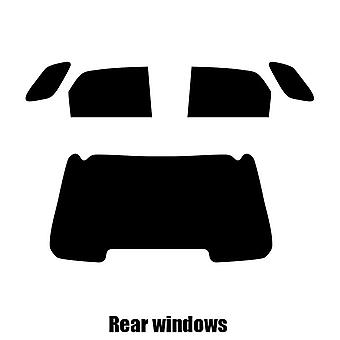 Pre cut window tint - Kia Sportage - 2003 to 2010 - Rear windows