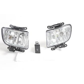 Fog Lamp Set Right Driver Side & Left Passenger Side For Hyundai Getz 2003 -2009