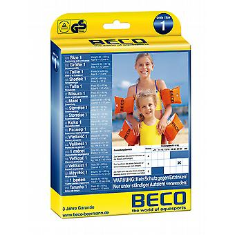 BECO Swimming Arm Bands for 6 - 12 yrs (30 - 60kg) - Orange