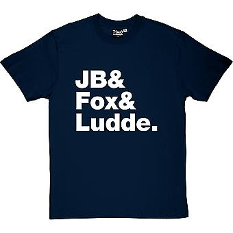 Grand Magus Stage Name Line-Up Navy Blue Men's T-Shirt