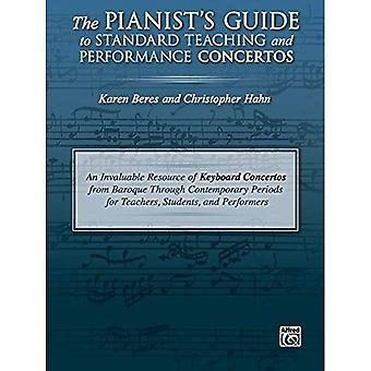 Der Pianist Guide to Standard Lehre und Leistung Konzerte: eine unschätzbare Ressource Tastatur Konzerte von Barock bis moderne Zeiten für Lehrer, Schüler und Künstler