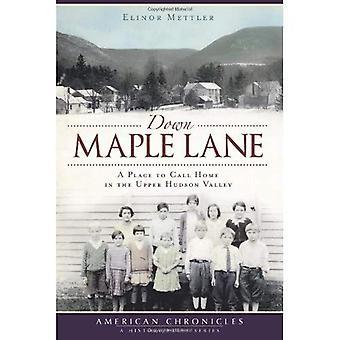 Bas Maple Lane: A Place to Call Home dans la haute vallée de Hudson (American Chronicles (presse histoire))