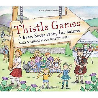 Thistle Games (Picture Kelpies)