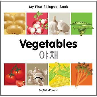 Mijn eerste tweetalige boek - groenten - Engels-Koreaans