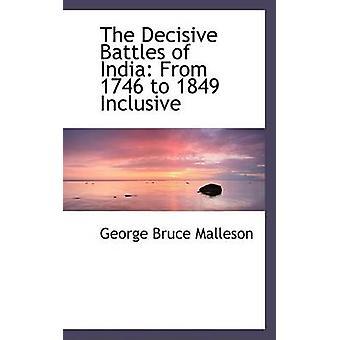 معارك حاسمة للهند من 1746 1849 شاملة قبل ملسن & بروس جورج