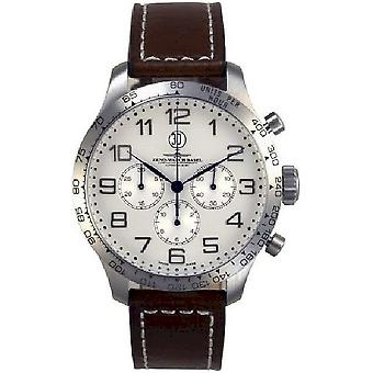 Zeno-Watch Herrenuhr OS Tachymeter Retro Chronograph 2025 8559THD12T-e2