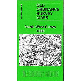 North West Surrey 1888 - One Inch Map 285 (Facsimile of 1888 ed) by Jo