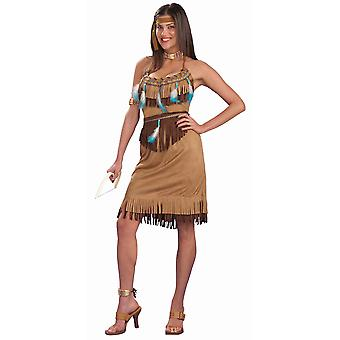 Pow Wow Princess Indian Pocahontas Native Americans Women Costume