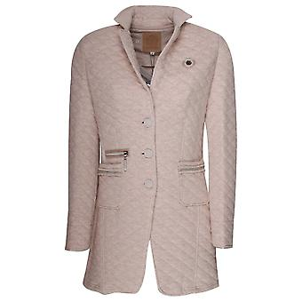 L'argentina Longline Quilted Blazer Style Jacket