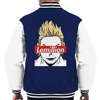 Lemillion Skate Brand My Hero Academia Men's Varsity Jacket