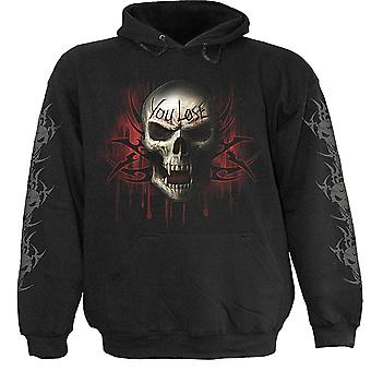 Spiral Direct Gothic GAME OVER - Hoody Black|Reaper|Skulls|Death|Tribal
