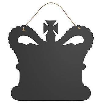 ECP design naturlig samling Crown formet tavle