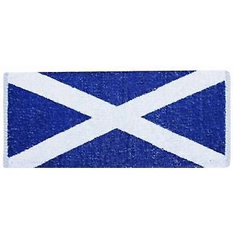 Skottland Scottish Saltire Flag Cotton bar håndkle 500mm x 225mm (PP)