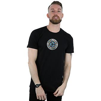 Marvel Men's Avengers Endgame Tony Stark Heart T-Shirt