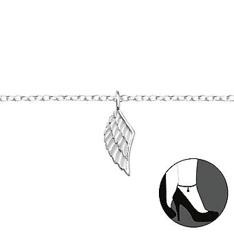 Wing - 925 Sterling Silver Anklets - W35936X