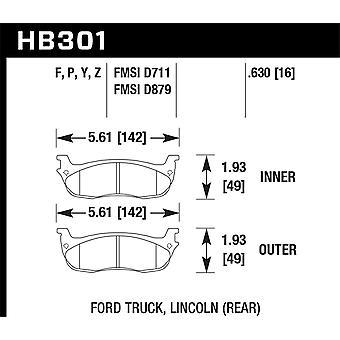 Hawk Performance HB301Z.630 PC