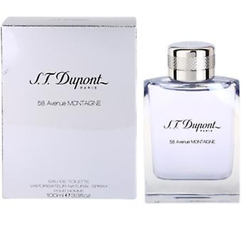 S.T. Dupont 58 Avenue Montaigne Pour Homme Eau de Toilette 100ml EDT