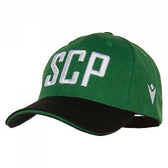 2019-2020 Sporting Lisabona macron baseball cap (verde)