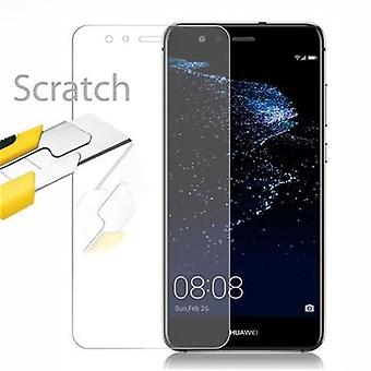 Cadorabo Tank Foil for Huawei P10 LITE - Protective Film in KRISTALL KLAR - Tempered Display Protective Glass in 9H Hardness with 3D Touch Compatibility
