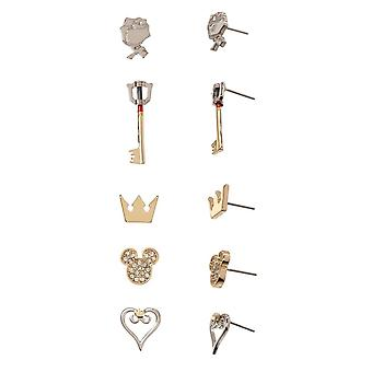 Earrings - Kingdom Hearts - Multi Pack New Licensed eg6r8jkdh
