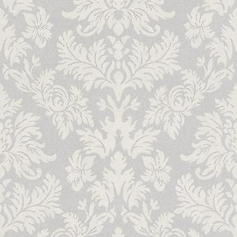 Rasch Barbara Becker Damask Modèle Fond d'écran Baroque Textured Fabric Effect 474343