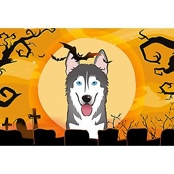 Carolines Treasures  BB1776PLMT Halloween Alaskan Malamute Fabric Placemat