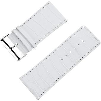 Pure grey Watch Unisex ref. 71S- Genf 3/2 Krokooptik 40/38 weiss