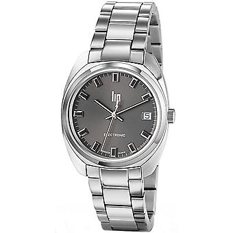 Lip general de gaulle 35 watch for Unisex Analog Quartz with stainless steel bracelet 671026