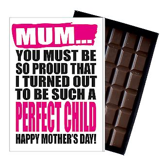 Funny Mother's Day Gift Boxed Chocolate Present Rude Greeting Card For Mom Mum Mumy MIYF110
