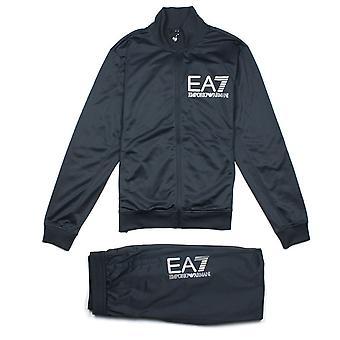 Ea7 Emporio Armani EA7 Grande Logo Tracksuit Night Blue