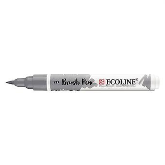 Talens Ecoline Liquid Watercolour Brush Pen - 717 Cold Grey
