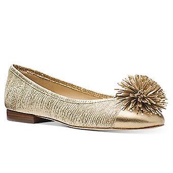 Michael Kors Women's Lolita Ballet Gold Size 7