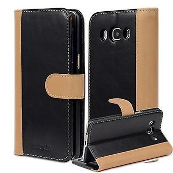 Cadorabo sag for Samsung Galaxy J5 (model 2016) sag syrbog - telefon sag med stå funktion og kort rum i to-tone design - Case Cover Beskyttende sag sag bog