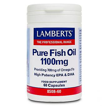 Lamberts Pure Fish Oil 1100mg Capsules 60 (8508-60)