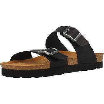 Gele winkel sandalen 78745 kleur zwart