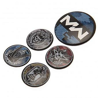 Call Of Duty Modern Warfare Button Badge Set (Pack of 5)