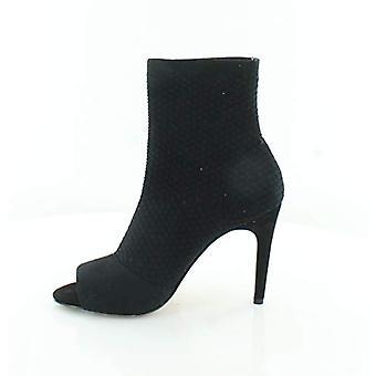 INC International Concepts Womens RIELEE strumpa fotled boot svart 5,5 M