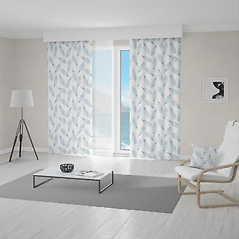 Meesoz Curtain - Subtle Feathers