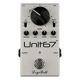 DryBell Unit67 Eq Boost And Compressor Pedal