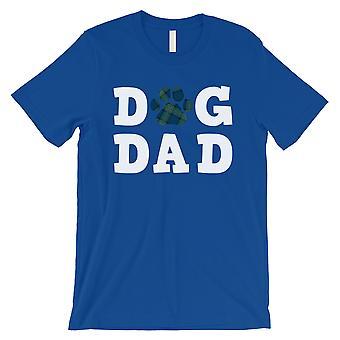 الكلب داد الرجال الأزرق الملكي المحبة لطيف الآباء احتفال اليوم قميص