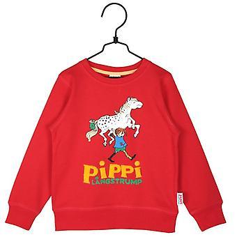 Pippi Longstocking Pippi College trui rood