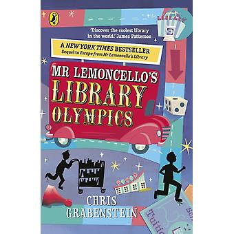 Mr Lemoncellos Library Olympics by Chris Grabenstein