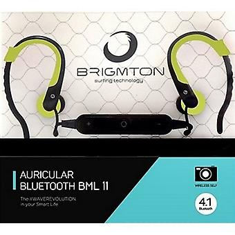 With Microphone BRIGMTON BML-11-V green Bluetooth headsets
